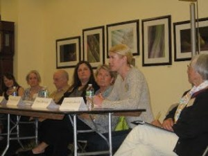 2011 panelmembers were all interviewed by Nina Shengold for River of Words